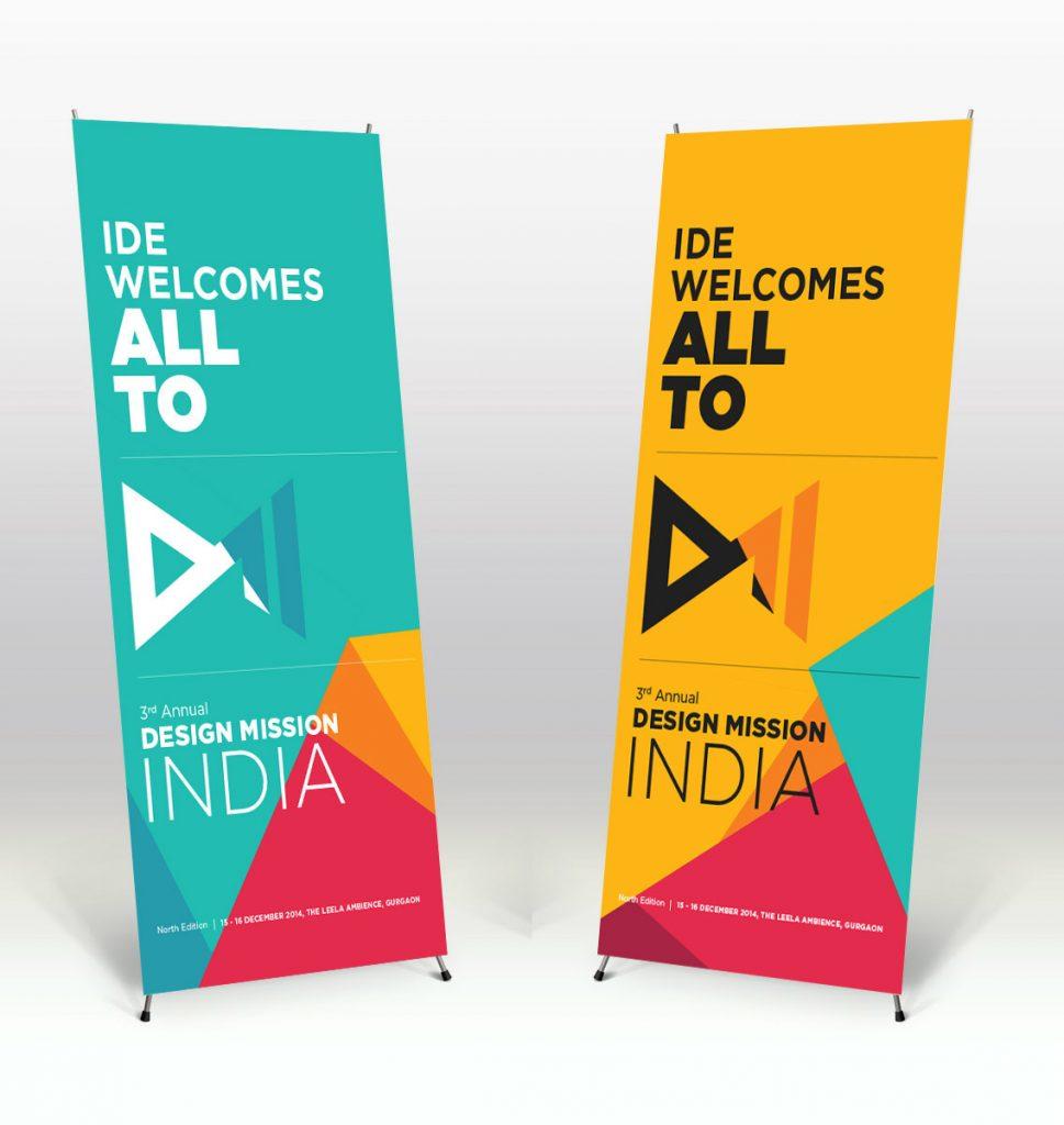 In và thiết kế standee dành cho triển làm, shop, cửa hàng
