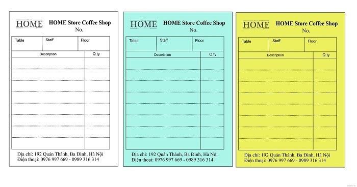 In hóa đơn giá rẻ tai TpHcm