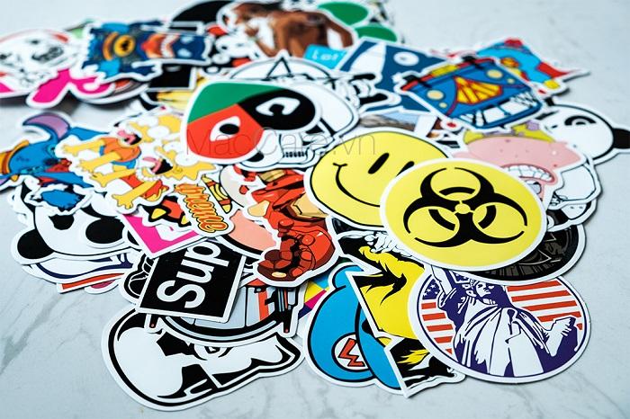 Mẫu sticker giá rẻ tại TpHcm