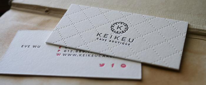 In card visit bằng giấy mỹ thuật