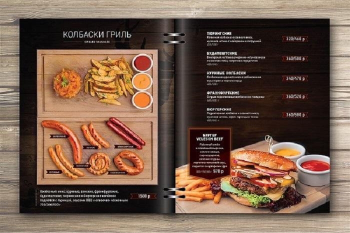 In menu cuốn giá rẻ taị TpHcm