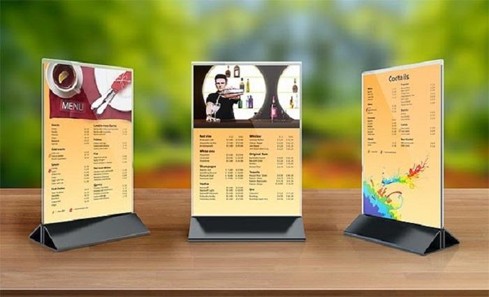 In menu nhựa giá rẻ tại TpHcm
