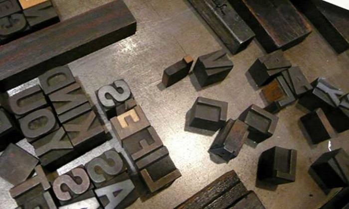 Kỹ thuật in Typo