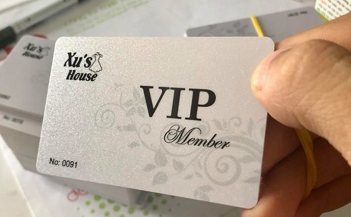 In thẻ Vip card giá rẻ tại TpHcm