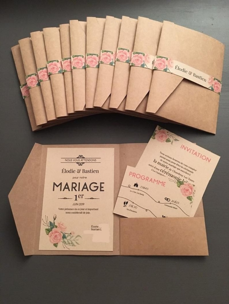 In ấn thiệp cưới thiết kế chuyên nghiệp